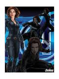 The Avengers: Age of Ultron - Black Widow Kunstdrucke