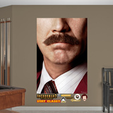 Ron Burgundy Moustache Mural Wall Mural