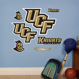 UCF Knights Team Logo Assortment Wall Decal
