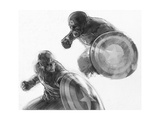 The Avengers: Age of Ultron - Sketches of Captain America Posters