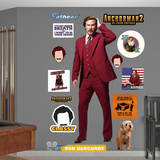 Ron Burgundy - Anchorman 2 Wall Decal