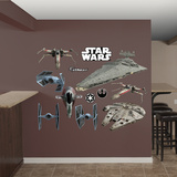 Star Wars Original Trilogy Spaceships Collection Wall Decal