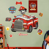 PAW Patrol: Marshall's Fire Truck Wall Decal