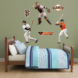 Buster Posey Hero Pack Wall Decal