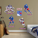 New York Rangers Power Pack Wall Decal