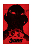 The Avengers: Age of Ultron - Character Silhouettes Design Prints