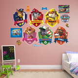 PAW Patrol Shields Collection Wall Decal