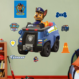 PAW Patrol: Chase's Police Truck Wall Decal