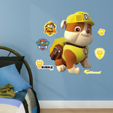 PAW Patrol: Rubble - Fathead Jr Wall Decal