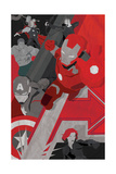The Avengers: Age of Ultron - Stylized Character Collage Prints