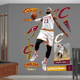 LeBron James - Slam Dunk Wall Decal