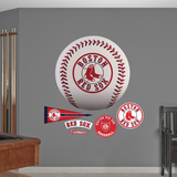 Boston Red Sox Baseball Logo Wall Decal