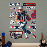 Julian Edelman Wall Decal