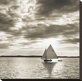 Friendship Sloop Stretched Canvas Print by Michael Kahn