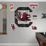 South Carolina Gamecocks Realtree Logo Wall Decal