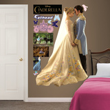Cinderella and Prince Charming Wall Decal
