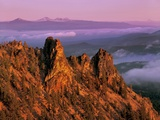 Morning Light on Paulina Peak Photographic Print by Steve Terrill