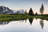 Mount Eiger at Sunrise Photographic Print by Frank Lukasseck