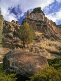Crooked River Petroglyph Photographic Print by Steve Terrill
