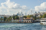 Besiktas Ferry Station and Barbaros Park Photographic Print by Guido Cozzi