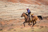 Cowboy at Full Gallop Photographic Print by Terry Eggers