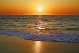 Sunset at Ocean Photographic Print by Frank Krahmer