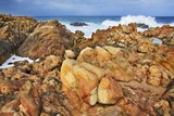 Rocky Coast and Surf at Canal Rocks Photographic Print by Frank Krahmer