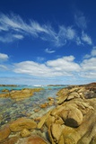 Coast Landscape near Elephant Rocks Photographic Print by Frank Krahmer