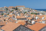 Dubrovnik Rooftops Photographic Print by Rob Tilley
