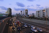Ramat Gan and the Ayalon Highway. Photographic Print by Stefano Amantini
