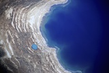 Dead Sea from Above. Photographic Print by Stefano Amantini