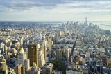 Manhattan Skyline from Above, New York City Photographic Print by Fraser Hall