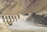 Alchi, the Dam along Indus River Photographic Print by Guido Cozzi