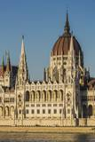 Pest, the Hungarian Parliament Building Photographic Print by Massimo Borchi