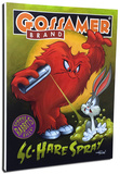 Sc - Hare Spray Stretched Canvas Print