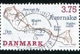 Danish Island Avernako Fotografisk trykk av  rook76