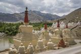 Stok Royal Palace, Stupa near the Palace Photographic Print by Guido Cozzi