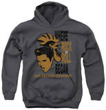 Youth Hoodie: Sun Record Company - Elvis And Rooster Pullover Hoodie