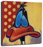 Daffy Duck Stretched Canvas Print