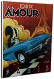 Tour De Amour Stretched Canvas Print