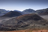 Crater of Haleakala Volcano, Maui, Hawaii, USA Reproduction photographique par Reinhard Dirscherl
