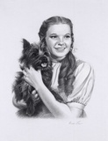 Dorothy And Toto Giclee Print