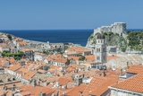 Dubrovnik Rooftops and Fort of St. Lawrence Photographic Print by Rob Tilley