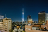 Asakusa, the Town and the Tokyo Sky Tree Photographic Print by Massimo Borchi