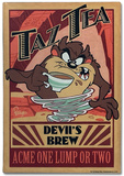 Taz Tea Tin Sign