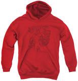 Youth Hoodie: Superman - Code Red Pullover Hoodie