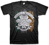 Dropkick Murphys - Knotwork Flag Tee T-Shirts