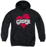 Youth Hoodie: Grease - Heart Pullover Hoodie