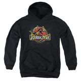 Youth Hoodie: Jurassic Park - Something Has Survived Pullover Hoodie