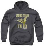 Youth Hoodie: Land Before Time - I'm Fly Pullover Hoodie